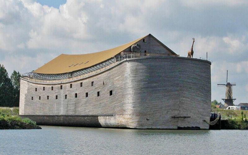 Menakjubkan!! Begini Wujud Replika Bahtera Nuh yang Habiskan Biaya Rp23 Miliar